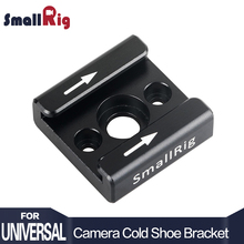 SmallRig Cold Shoe Adapter Standard Shoe Type 1/4″ Screw Hole For Camera Light Microphone Monitor Attach  – 1241 (New Version)