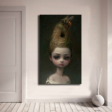Mark Ryden Childish stranna Dark World queen Bee Art Холст Плакат Картина настенное изображение, принт украшение для дома спальни художественное оформление(China)