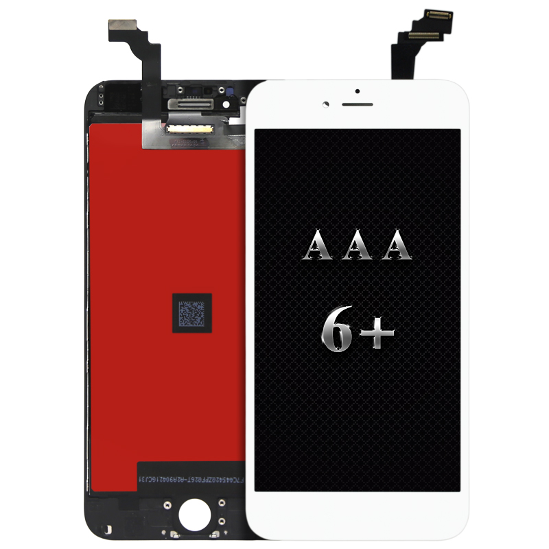 c2d7595d09fec5 5pcs alibaba china AAA Quality LCD Assembly For iPhone 6 Plus LCD Screen  Display Digitizer with 3D touch Camera holder