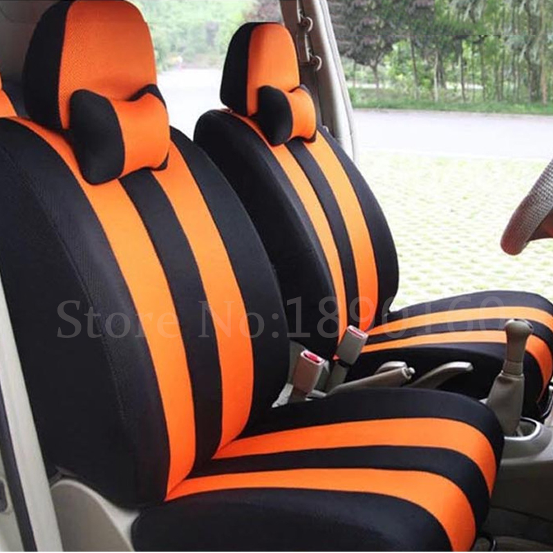 Universal only front car seat cover for Benz A B C D E S series Vito Viano Sprinter Maybach CLA CLK auto accessories styling 3D image