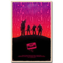 STAR LORD – Guardian of The Galaxy Art Silk Fabric Poster minimalism Print Superheroes Movie Picture for Room Wall Decor 09