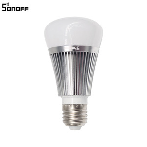 Image 2 - Sonoff B1 Smart Wifi Lamp E27 Dimmable Colorful LED Lamp RGB Color Light APP WIFI Remote Control Via IOS Android for Smart Homes