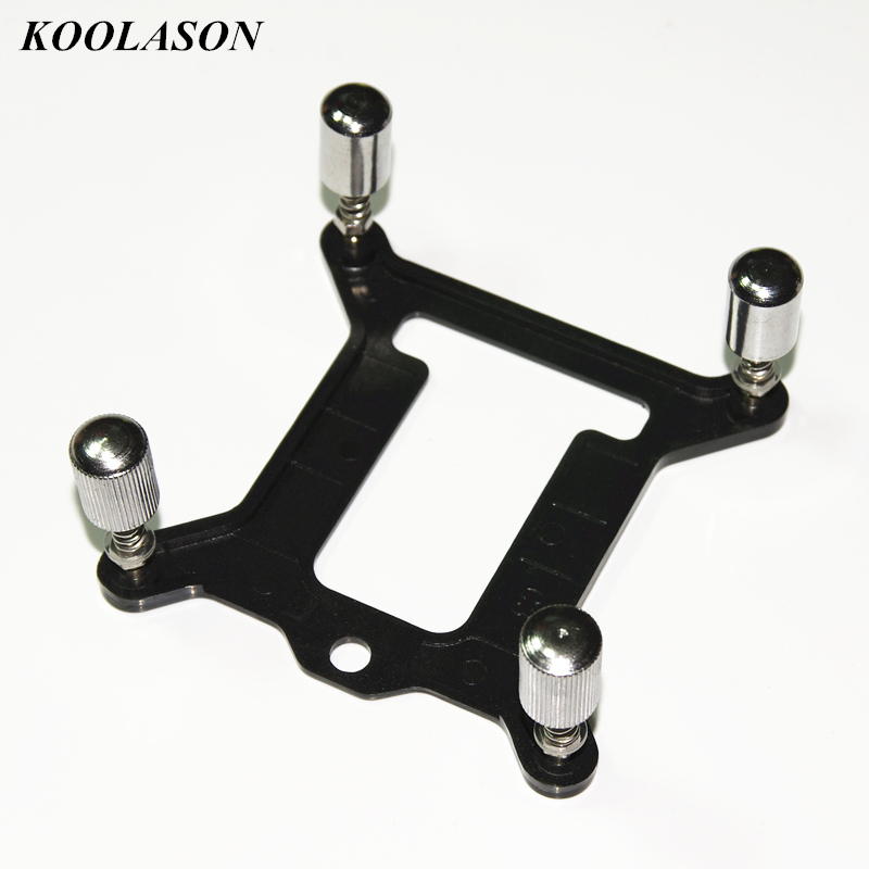 For <font><b>Intel</b></font> <font><b>1151</b></font> 2011 AMD PC Motherboard <font><b>CPU</b></font> water cooling radiator Block backplate buckle fastener mounting screws bracket image