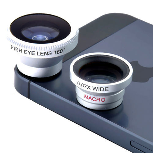 Universal Magnetic Fish eye Wide Angle Macro fisheye mobile phone lens For iPhone lenses 5 6 5S sony lenovo All phones 3 in 1