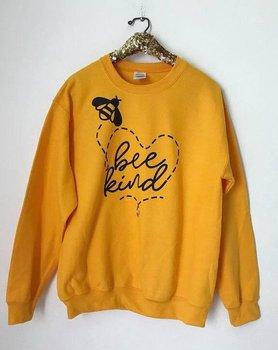Sugarbaby Bee Art Crewneck Sweatshirt Sparen Die Bienen Honigbiene Bee Keeper Vegan Werden Art Herz Gelb Jumper Unisex Mode Tops