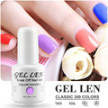 Gel Len UV Soak Off Gel Nail Polish 8ml LED Gel Varnish Long Lasting DIY Nail Art Brand Gel Nail Varnish
