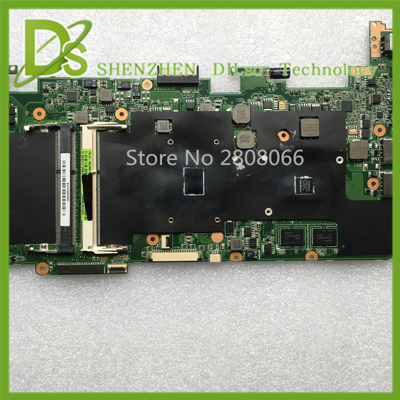 ФОТО For ASUS U36SD Laptop motherboard U36SD mainboard REV2.1 i3 cpu onboard 100% tested
