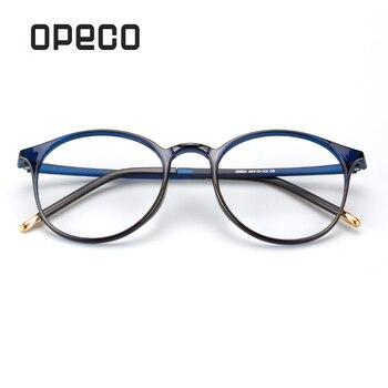 a769618912 Opeco grandes de los hombres gafas incluyendo lentes de prescripción RX  gafas TR90 marco RX receta hombre gafas D9094