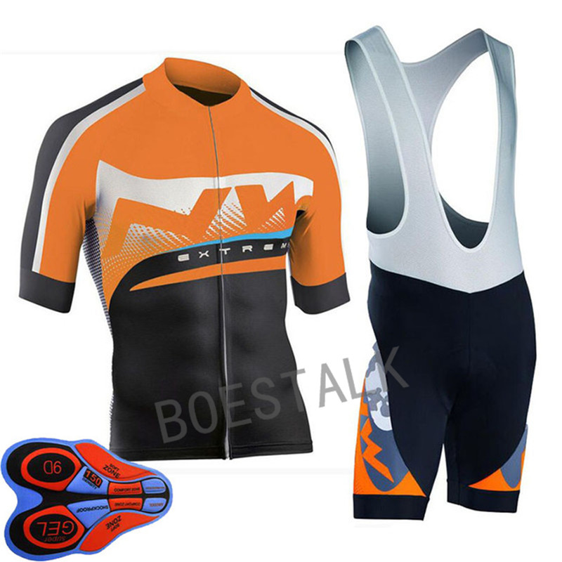 2018 NW Team Pro Summer Short Sleeve Cycling Jersey Ropa Ciclismo Bike Team Tournament Jersey 9D gel cushion custom manufacturer