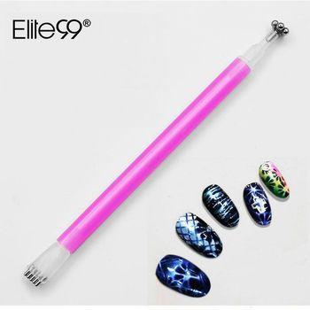 Elite99 Doppel Ende Magnetic Nail Stick 3D Cat Eye Gel Varinshes Wirkung Magnet Magische Blume Magnet Magnetische Stick Nagel Werkzeug DIY