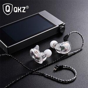 Image 5 - New QKZ VK1 4DD In Ear Earphone HIFI DJ Monito Running Sport Earphones Earplug Headset Earbud ZS10 ZS6 fone de ouvido audifonos