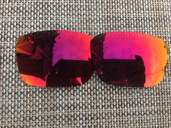 3 Pairs Purple Red & Ice Blue & Green Polarized Replacement Lenses Lens for Fuel Cell Sunglasses