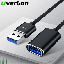 1 М USB Удлинительный кабель Super Speed USB3.0 2.0 Синхронизация данных USB 2.0 Кабель-удлинитель