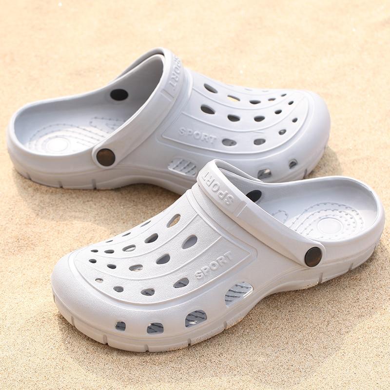 Les femmes d/'été à Enfiler Plage Sandales respirant chaussons Hollow Out Flats Shoes