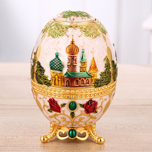 Exquisite Creative Automatic Toothpick Holder Flowers Islamic Metal Box Secret Stash Container Desktop Decor Accessory