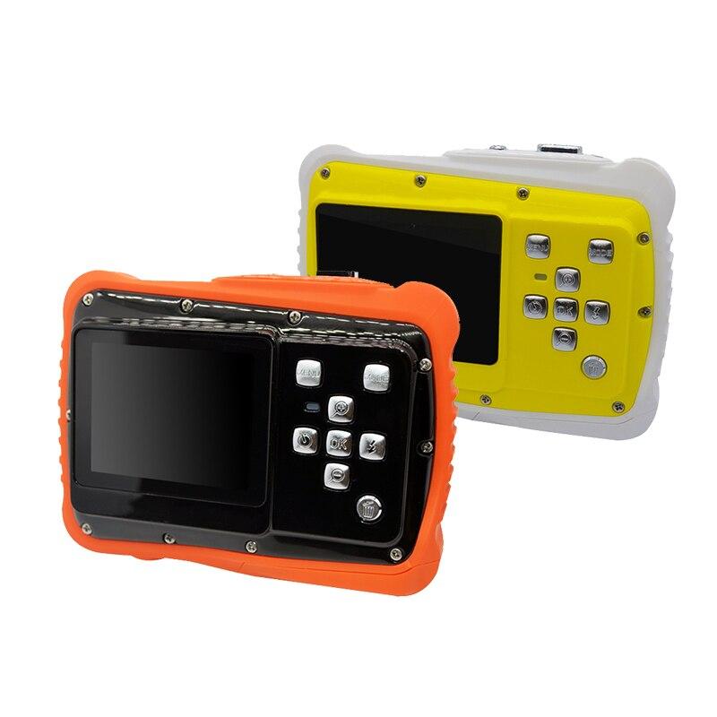 2018 Водонепроницаемый цифровой Камера 5mp 2.0 дюймов цифровая видеокамера HD для детей Плавание Камера Спорт Мини Камера S для Одежда заплыва