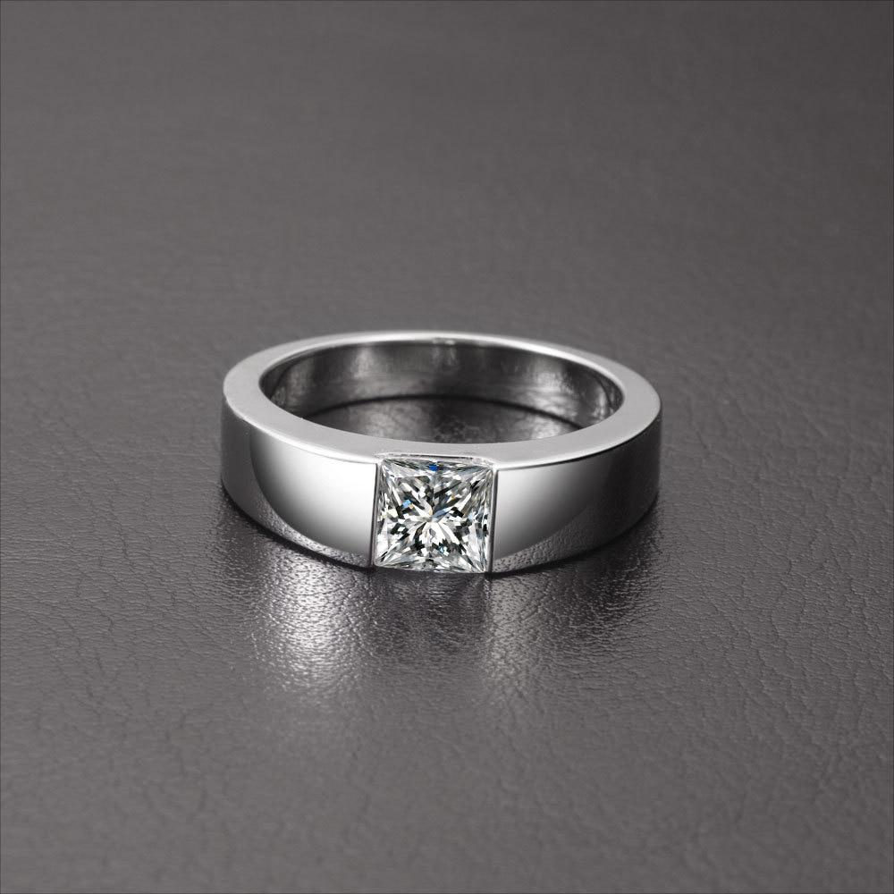 aliexpress : buy wholesale 2 ct square sona diamond ring for