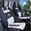 Cubierta de Asiento de Coche Universal Para Renault Espace Laguna Megane Scenic Clio Sandero Plumero coche cubierta de asiento de Coche Que Labra los accesorios