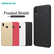 Huawei Honor Play Case NILLKIN Super Frosted Shield Matte Hard PC Cases For Huawei Honor Play Back Cover With Screen Protector стоимость