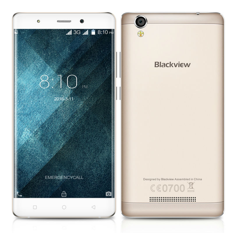 Blackview A8 android 5 1 smartphone mtk6580 1GB 8GB 5 0 8MP mobile phone