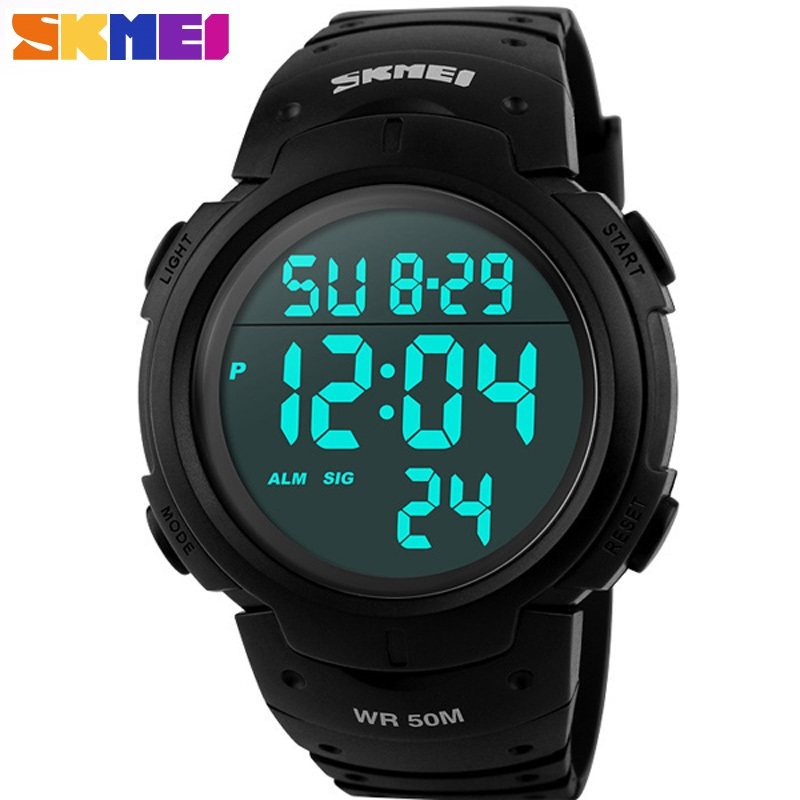Fashion Men Sports Watches Clock Male LED Military Watch Waterproof Outdoor Dress Wristwatches Men Electronics Wristwatches