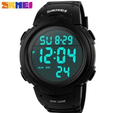 Fashion Men Sports Watches Clock Male LED Military Watch Waterproof Ou