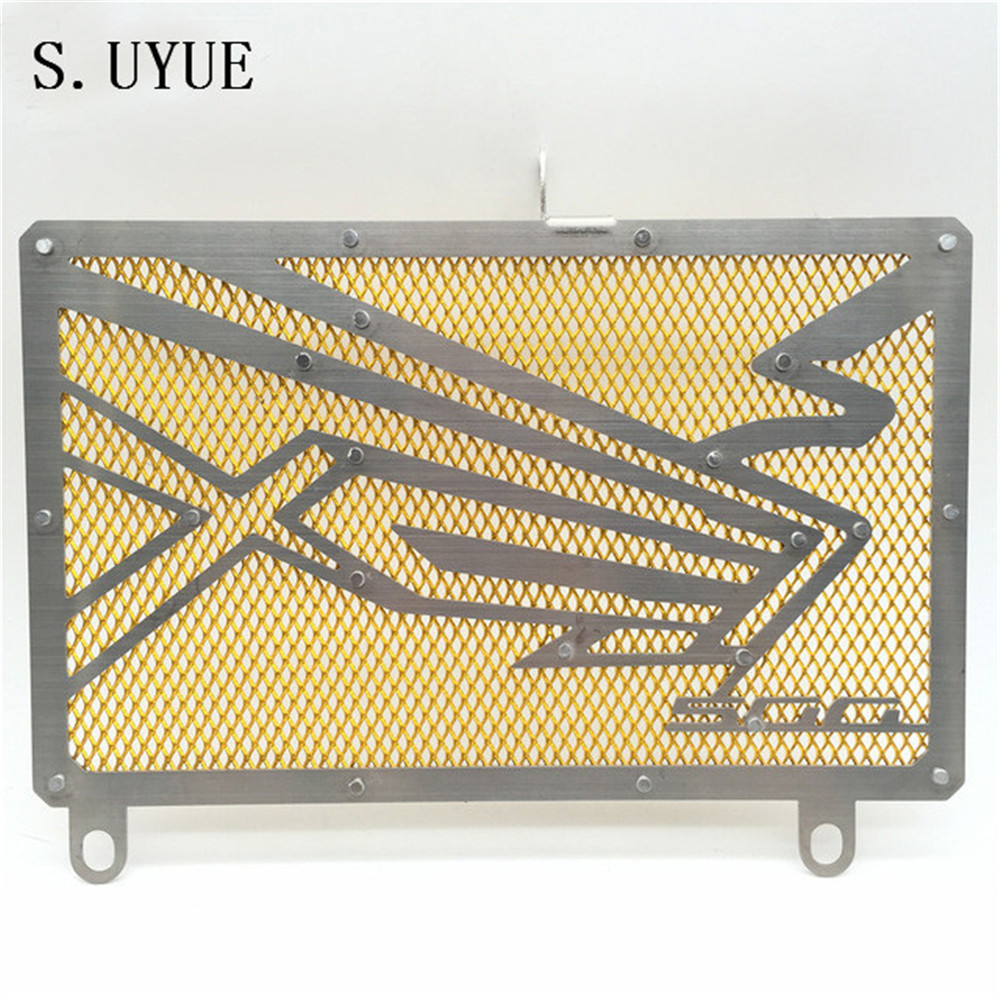 Motorcycle Radiator Protective Cover Grill Guard Grille Protector For <font><b>HONDA</b></font> CB500F <font><b>CB500X</b></font> CB 500 F X 2013 2014 2015 2017 2019 image