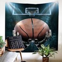 Basketball Sports Printing Home Tapestry Wall Hanging Beach Towel Beach Blanket Tapestry Beach Throw Towel Yoga Mat