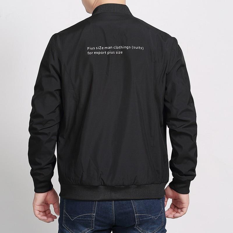 Arrivée Veste Noir Male Pardessus 7xl Vestes Automne Manteau Mode Casual Plus Col Taille La Nouvelle Hommes Support Mince Manteaux Solide 8xl De Kc3JF1Tl