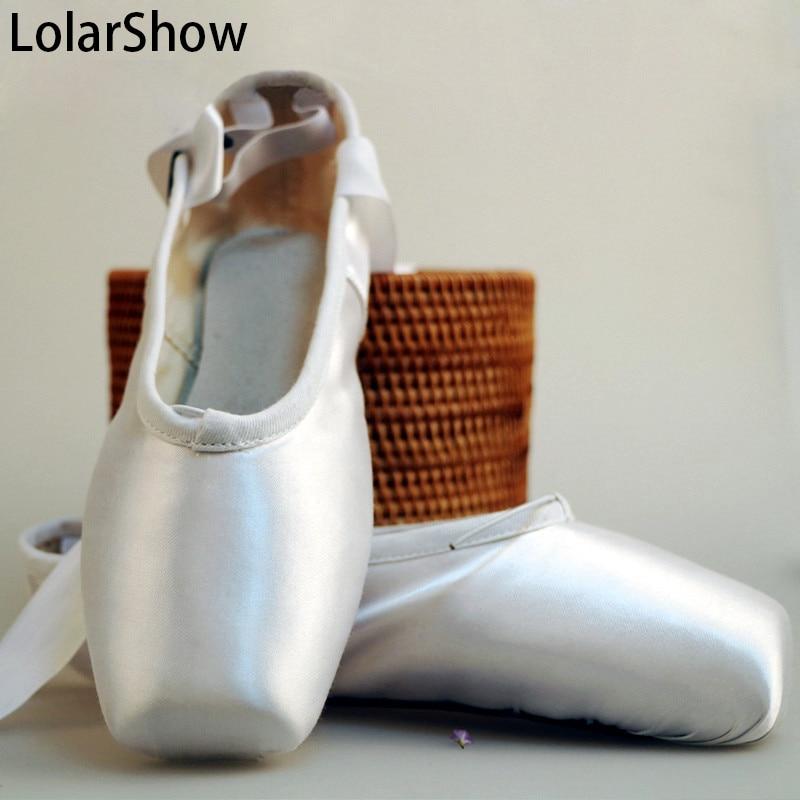 Balett Shoes Kids Pointe Dance Shoes Satin Upper Ballet dance shoes with shoe bag
