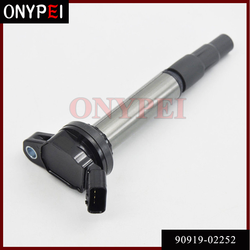 Ignition Coil 90919-02252 UF-596 UF-619 For Toyota Corolla Matrix Scion xD Lexus 1.8L UF596 UF619 <font><b>9091902252</b></font> image