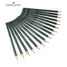 Faber castell lápis de desenho, lápis de desenho preto personalizado 12 peças de marca (6h 8b)