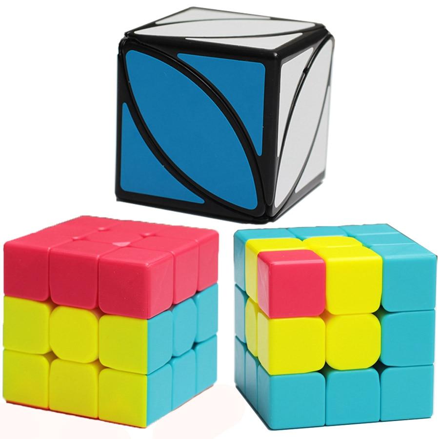 Strange Shape 3x3x3 Leaf Magic Cube  Educational Toys for Children 5 Years Old Girl Boy Classroom Gift