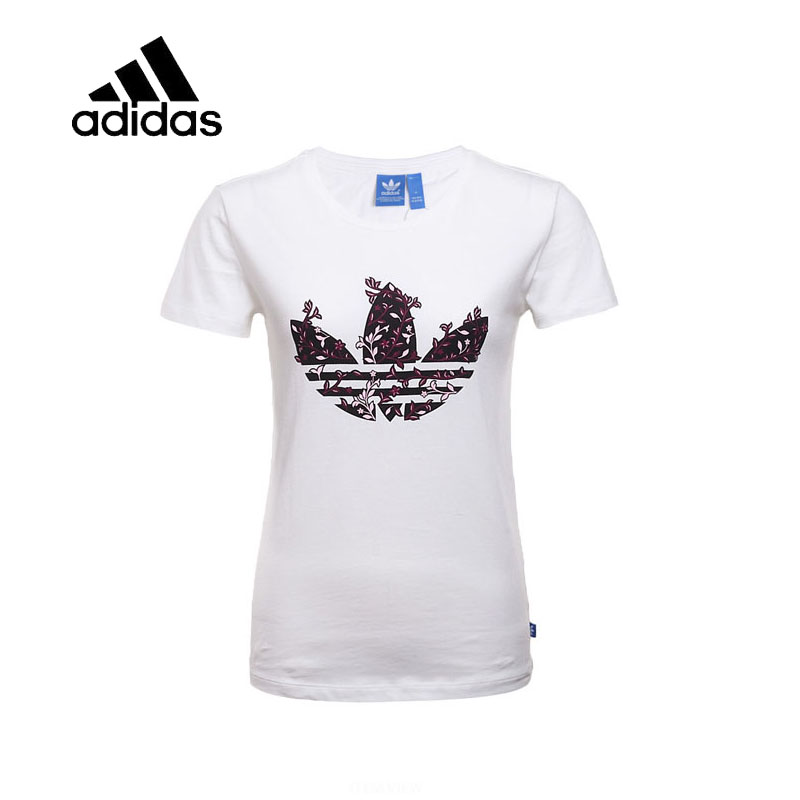 baa5bf2ab12c Original New Arrival Authentic Adidas Womens T-shirts short sleeve  Sportswear original new arrival authentic