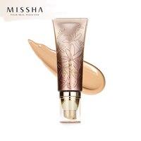Оригинальный MISSHA M Signature Real Complete BB крем SPF25 PA + + 45 г (#13, #21, #23, #27) CC основа для макияжа корейская косметика