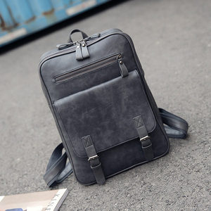 Image 5 - Fashion PU Man Women Travel Laptop Backpack For Macbook Air Pro 11 12 13 15 Retina Laptop HandBag For Lenovo HP School Bag