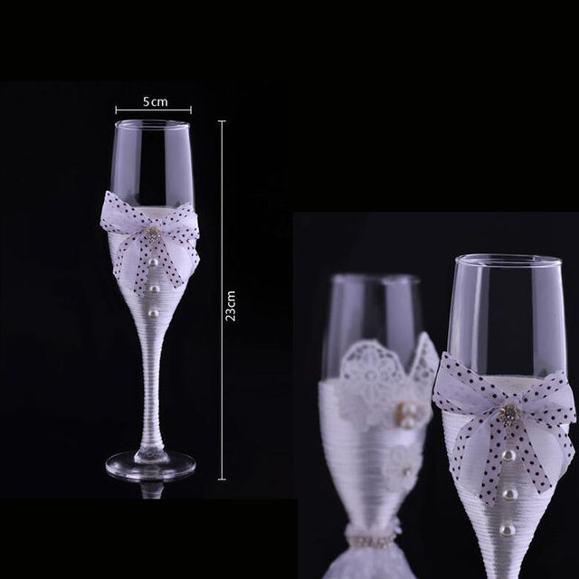 Online shop new wedding toasting flutes champagne glasses wedding new wedding toasting flutes champagne glasses wedding decoration valentines day groom and bride wedding wine glass za3046 junglespirit Images