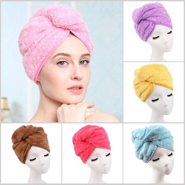 1 stà cke duschhaube super saugfà higen haar handtuch turban