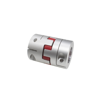 D80mm L114mm Aluminium alloy Shaft Coupling screw fixed diaphragms coupler Dropshipping 16/20/25/28/30/35/40/45/50mm