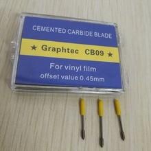 5Pcs/lot Graphtec CB09 Blades 30 degree *Ships from CN* vinyl cutter plotter CB09U