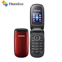 E1150 Original Samsung E1150 E1151 Unlocked GSM 1.43 inches 800 mAh Mini SIM Multi color Refurbished Flip Mobile Phone
