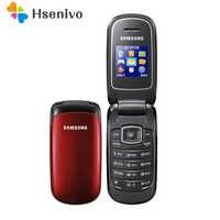 E1150 Original Samsung E1150 E1151 GSM desbloqueado 1,43 pulgadas 800 mAh Mini-SIM Multi-color reformado Flip Mobile teléfono