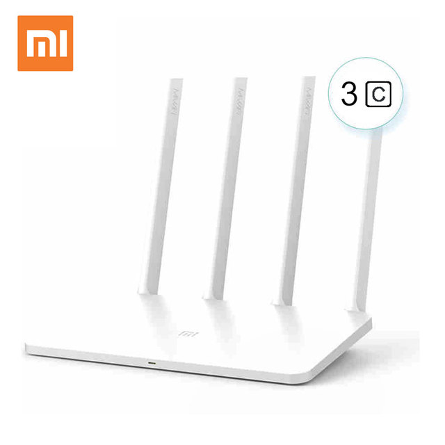 US $32 93 |Xiaomi Mi WiFi Router 3C English Version Wifi Repeater 300Mbps  2 4GHz Wireless Routers Repetidor Wi Fi Roteador APP Control-in Wireless
