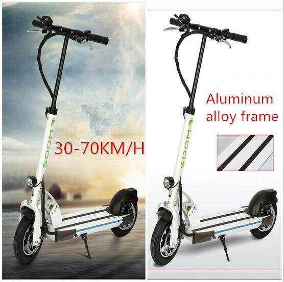 2 roues coup de pied scooter 350 W batterie au lithium scooter électrique avec siège charge max 150 kg pour adultes livraison gratuite