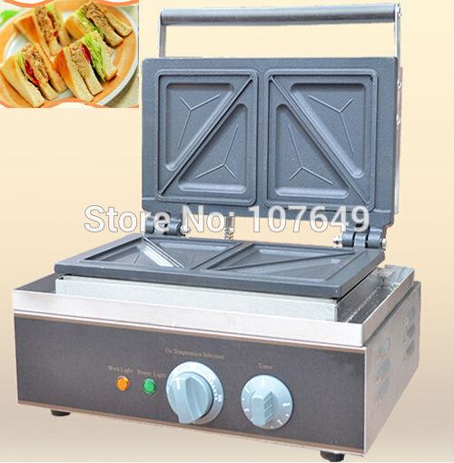 Hot Sale 110v 220V Electric Commercial Use Sandwich Grill Maker hot sale cayler