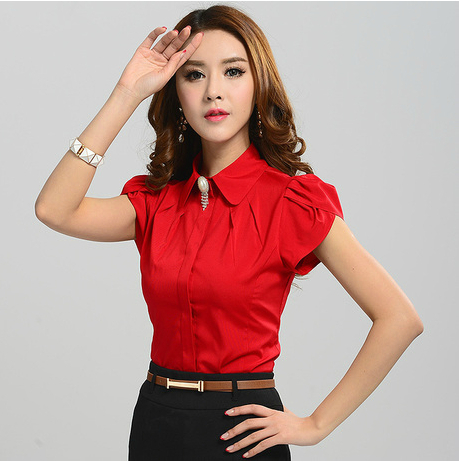 2015 New Fashion Summer Style Women Clothing Casual Tops Plus Size ...