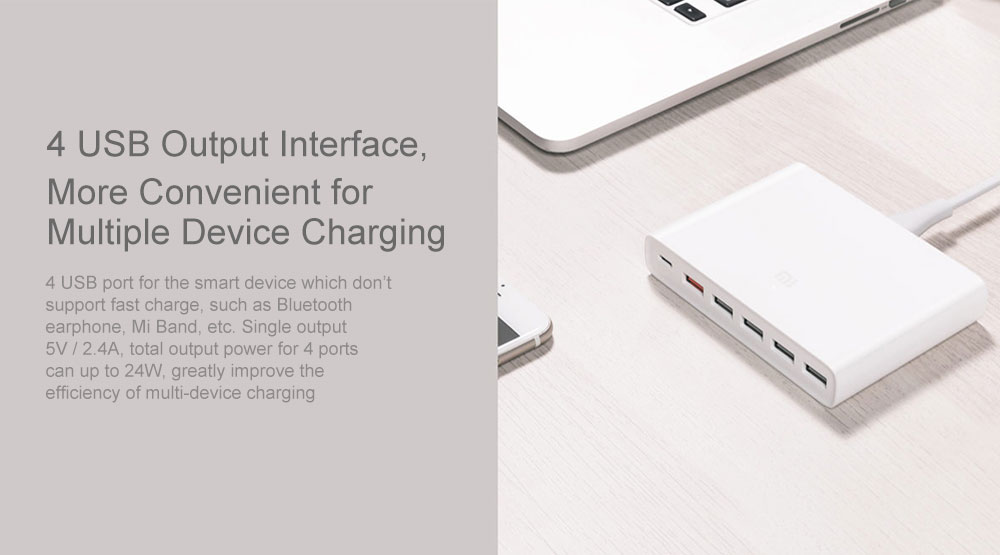 xiaomi 10 port USB charger 10