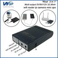 Router Wifi Ip Camera UPS Batteria di Backup Uinterruptible Alimentazione DC Portatile 5 V 9 V 12 V 1A Mini UPS Per CCTV