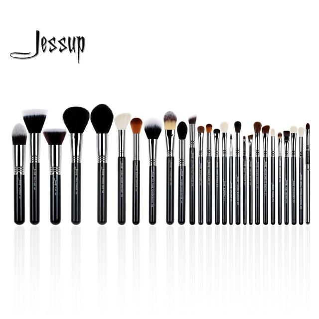 Jessup Professionele Make Up Kwasten Set Foundation Poeder Contour Oogschaduw Eyeliner 6 27Pcs Beauty Make Up Brush Cosmetica Tool