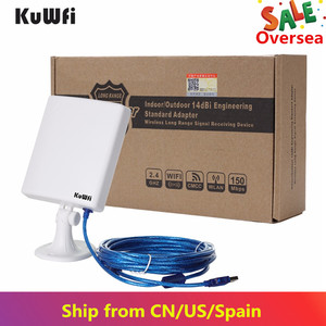 Image 3 - 2.4G WiFi USB Adapter 150Mbps Long Distance Wifi Antenna High Power Wireless Network Card Desktop Wifi Receiver With 5m Cable
